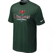 Wholesale Cheap Nike Tampa Bay Buccaneers Big & Tall Critical Victory NFL T-Shirt Dark Green