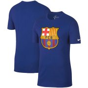 Wholesale Cheap Barcelona Nike Team Crest Performance T-Shirt Royal