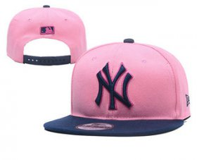 Wholesale Cheap New York Yankees Snapback Ajustable Cap Hat YD 4