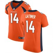 Wholesale Cheap Nike Broncos #14 Cody Latimer Orange Team Color Men's Stitched NFL Vapor Untouchable Elite Jersey