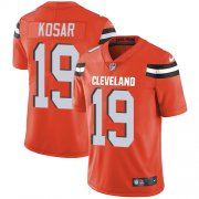 Wholesale Cheap Nike Browns #19 Bernie Kosar Orange Alternate Youth Stitched NFL Vapor Untouchable Limited Jersey