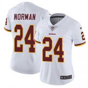 Wholesale Cheap Nike Redskins #24 Josh Norman White Women's Stitched NFL Vapor Untouchable Limited Jersey