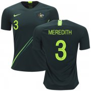 Wholesale Cheap Australia #3 Meredith Away Soccer Country Jersey