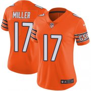 Wholesale Cheap Nike Bears #17 Anthony Miller Orange Women's Stitched NFL Limited Rush Jersey