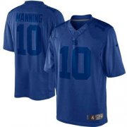 Wholesale Cheap Nike Giants #10 Eli Manning Royal Blue Men's Stitched NFL Drenched Limited Jersey