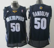Wholesale Cheap Memphis Grizzlies #50 Zach Randolph Navy Blue Swingman Jersey