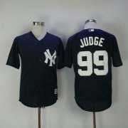 Wholesale Cheap Yankees #99 Aaron Judge Navy Blue New Cool Base Stitched MLB Jersey