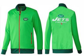 Wholesale Cheap NFL New York Jets Victory Jacket Green_2