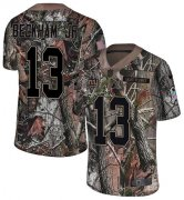 Wholesale Cheap Nike Giants #13 Odell Beckham Jr Camo Youth Stitched NFL Limited Rush Realtree Jersey