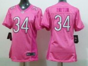 Wholesale Cheap Nike Bears #34 Walter Payton Pink Women's Be Luv'd Stitched NFL Elite Jersey