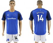 Wholesale Cheap Everton #14 Bolasie Home Soccer Club Jersey
