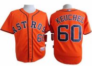 Wholesale Cheap Astros #60 Dallas Keuchel Orange Cool Base Stitched MLB Jersey