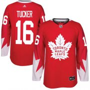 Wholesale Cheap Adidas Maple Leafs #16 Darcy Tucker Red Team Canada Authentic Stitched NHL Jersey