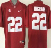 Wholesale Cheap Alabama Crimson Tide #22 Mark Ingram Red 2015 College Football Nike Limited Jersey