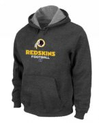Wholesale Cheap Washington Redskins Critical Victory Pullover Hoodie Dark Grey