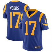 Wholesale Cheap Nike Rams #17 Robert Woods Royal Blue Alternate Youth Stitched NFL Vapor Untouchable Limited Jersey