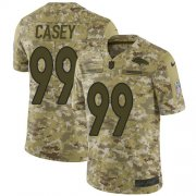 Wholesale Cheap Nike Broncos #99 Jurrell Casey Camo Youth Stitched NFL Limited 2018 Salute To Service Jersey
