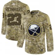 Wholesale Cheap Adidas Sabres #23 Sam Reinhart Camo Authentic Stitched NHL Jersey