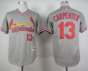 Wholesale Cheap Cardinals #13 Matt Carpenter Grey 1978 Turn Back The Clock Stitched MLB Jersey