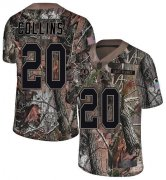Wholesale Cheap Nike Redskins #20 Landon Collins Camo Men's Stitched NFL Limited Rush Realtree Jersey