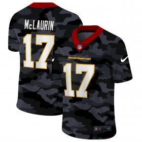 Cheap Washington Redskins #17 Terry McLaurin Men\'s Nike 2020 Black CAMO Vapor Untouchable Limited Stitched NFL Jersey