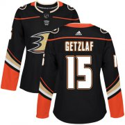 Wholesale Cheap Adidas Ducks #15 Ryan Getzlaf Black Home Authentic Women's Stitched NHL Jersey
