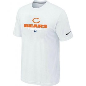 Wholesale Cheap Nike Chicago Bears Big & Tall Critical Victory NFL T-Shirt White