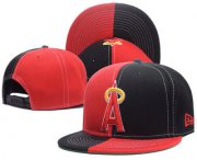 Wholesale Cheap Los Angeles Angels of Anaheim Snapback Ajustable Cap Hat 1