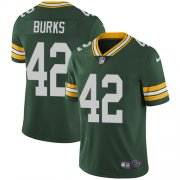 Wholesale Cheap Nike Packers #42 Oren Burks Green Team Color Men's Stitched NFL Vapor Untouchable Limited Jersey