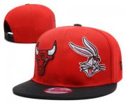 Wholesale Cheap NBA Chicago Bulls Snapback Ajustable Cap Hat DF 03-13_40