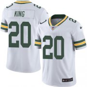 Wholesale Cheap Nike Packers #20 Kevin King White Youth Stitched NFL Vapor Untouchable Limited Jersey