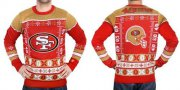 Wholesale Cheap Nike 49ers Men's Ugly Sweater