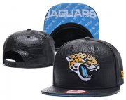 Wholesale Cheap NFL Jacksonville Jaguars Team Logo Black Snapback Adjustable Hat G98