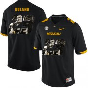 Wholesale Cheap Missouri Tigers 23 Johnny Roland Black Nike Fashion College Football Jersey