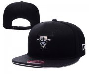 Wholesale Cheap NBA Chicago Bulls Snapback Ajustable Cap Hat YD 03-13_35