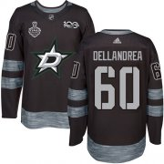 Wholesale Cheap Adidas Stars #60 Ty Dellandrea Black 1917-2017 100th Anniversary 2020 Stanley Cup Final Stitched NHL Jersey