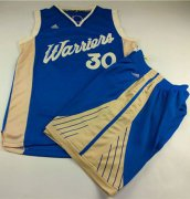 Wholesale Cheap Warriors #30 Stephen Curry Blue 2015-2016 Christmas Day A Set Stitched NBA Jersey