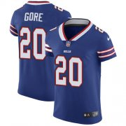 Wholesale Cheap Nike Bills #20 Frank Gore Royal Blue Team Color Men's Stitched NFL Vapor Untouchable Elite Jersey