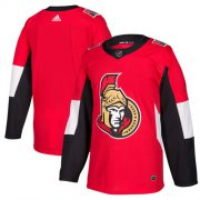 Wholesale Cheap Adidas Senators Blank Red Home Authentic Stitched NHL Jersey