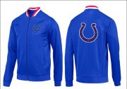 Wholesale NFL Indianapolis Colts Team Logo Jacket Blue_1