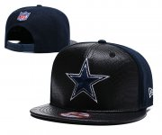 Wholesale Cheap NFL Dallas Cowboys Team Logo Black Adjustable Hat YD