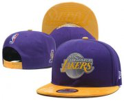 Wholesale Cheap Los Angeles Lakers Snapback Ajustable Cap Hat YD