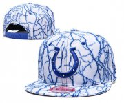 Wholesale Cheap Colts Team Logo White Adjustable Hat TX