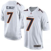 Wholesale Cheap Nike Broncos #7 John Elway White Youth Stitched NFL Game Event Jersey
