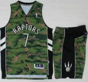 Wholesale Cheap Toronto Raptors #7 Kyle Lowry Revolution 30 Swingman Special Canadian Forces Fourth Jersey Suits