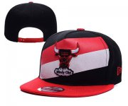 Wholesale Cheap NBA Chicago Bulls Snapback Ajustable Cap Hat YD 03-13_38