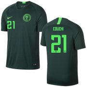 Wholesale Cheap Nigeria #21 Ebuehi Away Soccer Country Jersey