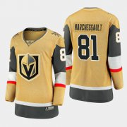 Cheap Vegas Golden Knights #81 Jonathan Marchessault Women 2020-21 Player Alternate Stitched NHL Jersey Gold