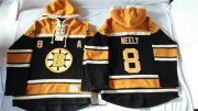 Wholesale Cheap Bruins #8 Cam Neely Black Sawyer Hooded Sweatshirt Stitched NHL Jersey