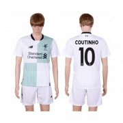 Wholesale Cheap Liverpool #10 Coutinho Away Soccer Club Jersey